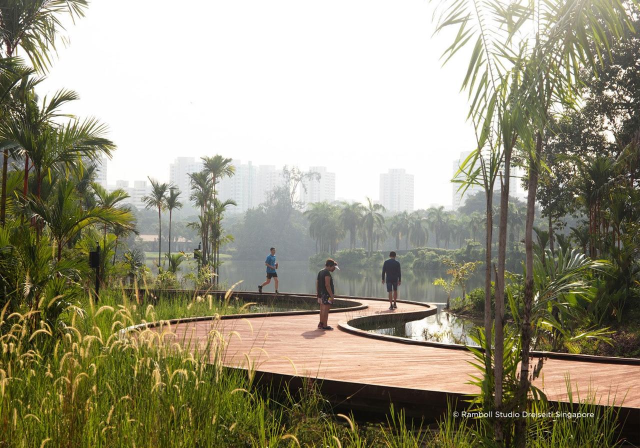 Lakeside Gardenby by Ramboll Studio Dreiseitl