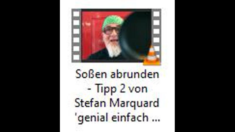 Soßen abrunden Tipp 2 von Stefan Marquard genial einfach einfach anders