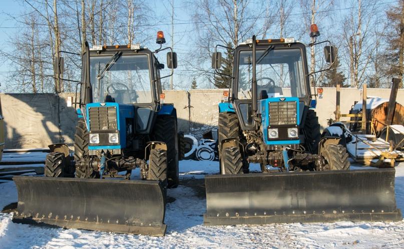 Новые тракторы для чистых тротуаров, изображение №1