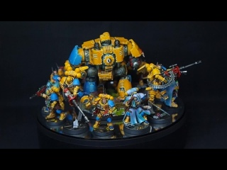 Sunny & Blue Primaris Space Marines