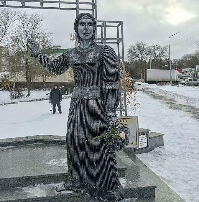 """Памятник """"Аленка"""", Нововоронеж. Фото из открытых источников (Инстаграм)"""