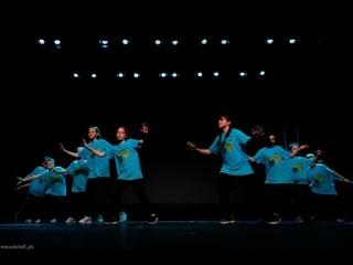 Хип-хоп.  Отчетный концерт Школы танцев Dance Life в Курске