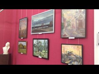 🎬Обзор экспозиции.🎨Международная выставка в Тамбовской картинной галереи🎨Здесь представлено 6 моих работ😊