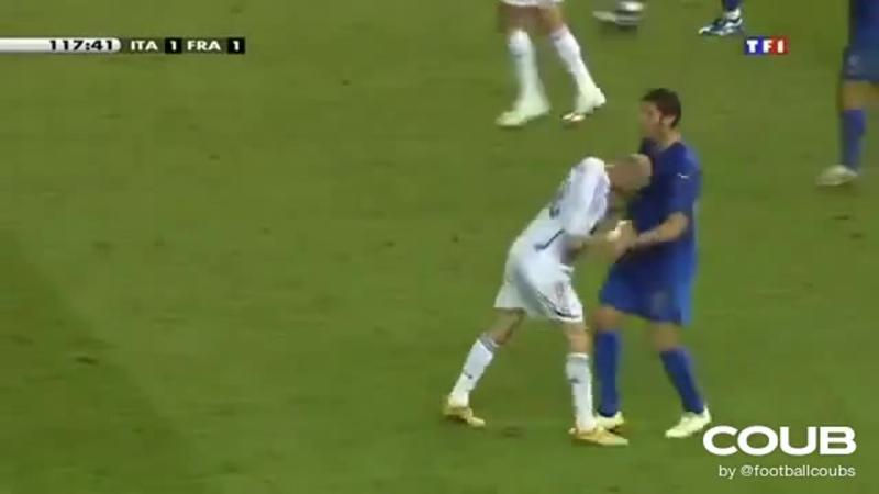 Legendary Moment Zidane Vs Materazzi