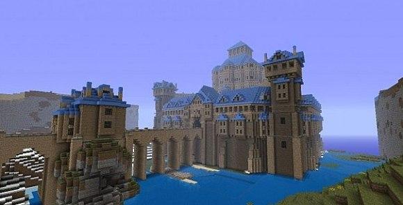сид в майнкрафте на замок #6