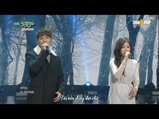 [Vietsub] [Perf] TS (T-ara  SPEED  The SeeYa  SeungHee) - Dont Forget Me (150213 KBS Music Bank) {T-ara Team} []