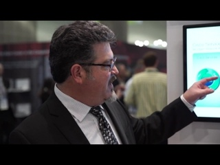 Дизайн стенда #OFC2015 Cisco – архитектура поставщика услуг Cisco