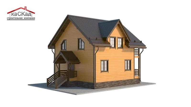 Каркасный дом КД-10