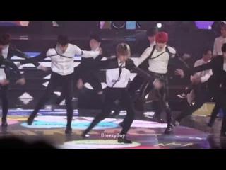 [VK][171231] MONSTA X fancam - Dramarama (remix) @ MBC Gayo Daejejeon - The FAN