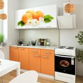 Кухня Персик. Фотопечать.