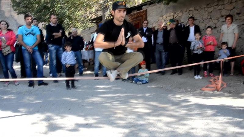 Step Slackliners Armenia in Areni Wine Fest