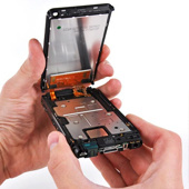 Замена дисплея  (замена экрана смартфона)