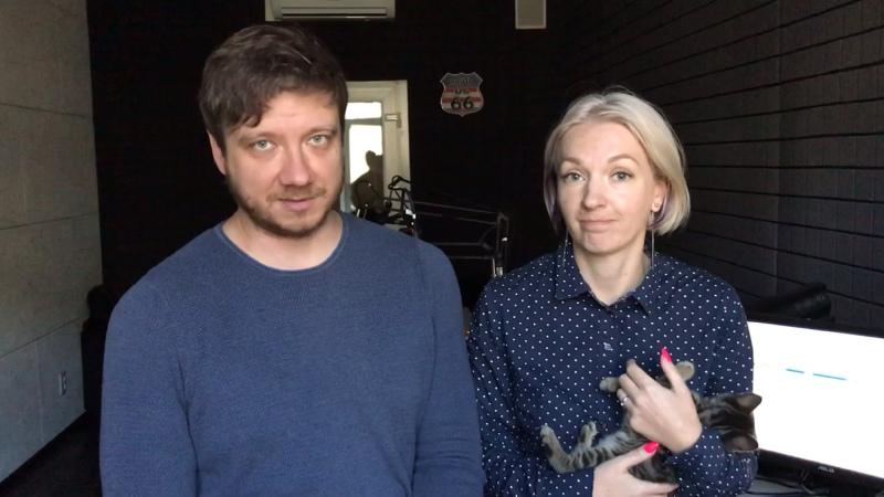 Оля Богданова и Алексей ДанковПитер FM