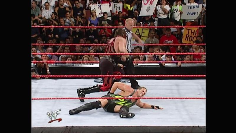WWF Raw Is War 06.08.2001 - Kane vs Rob Van Dam