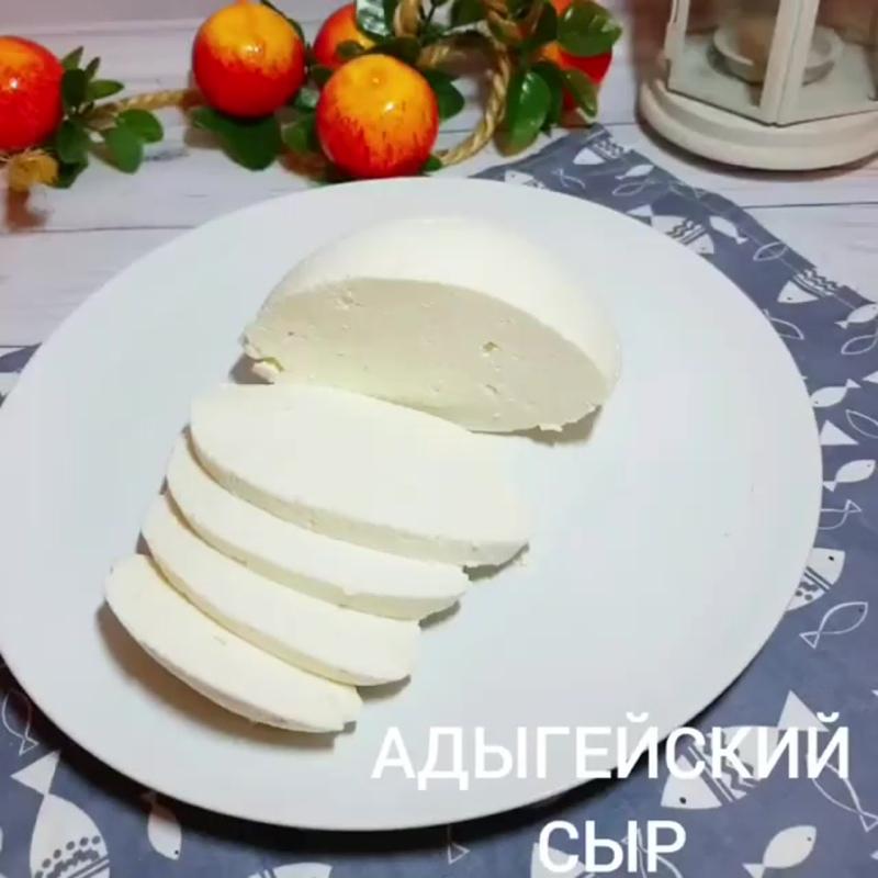 Домашний сыр .