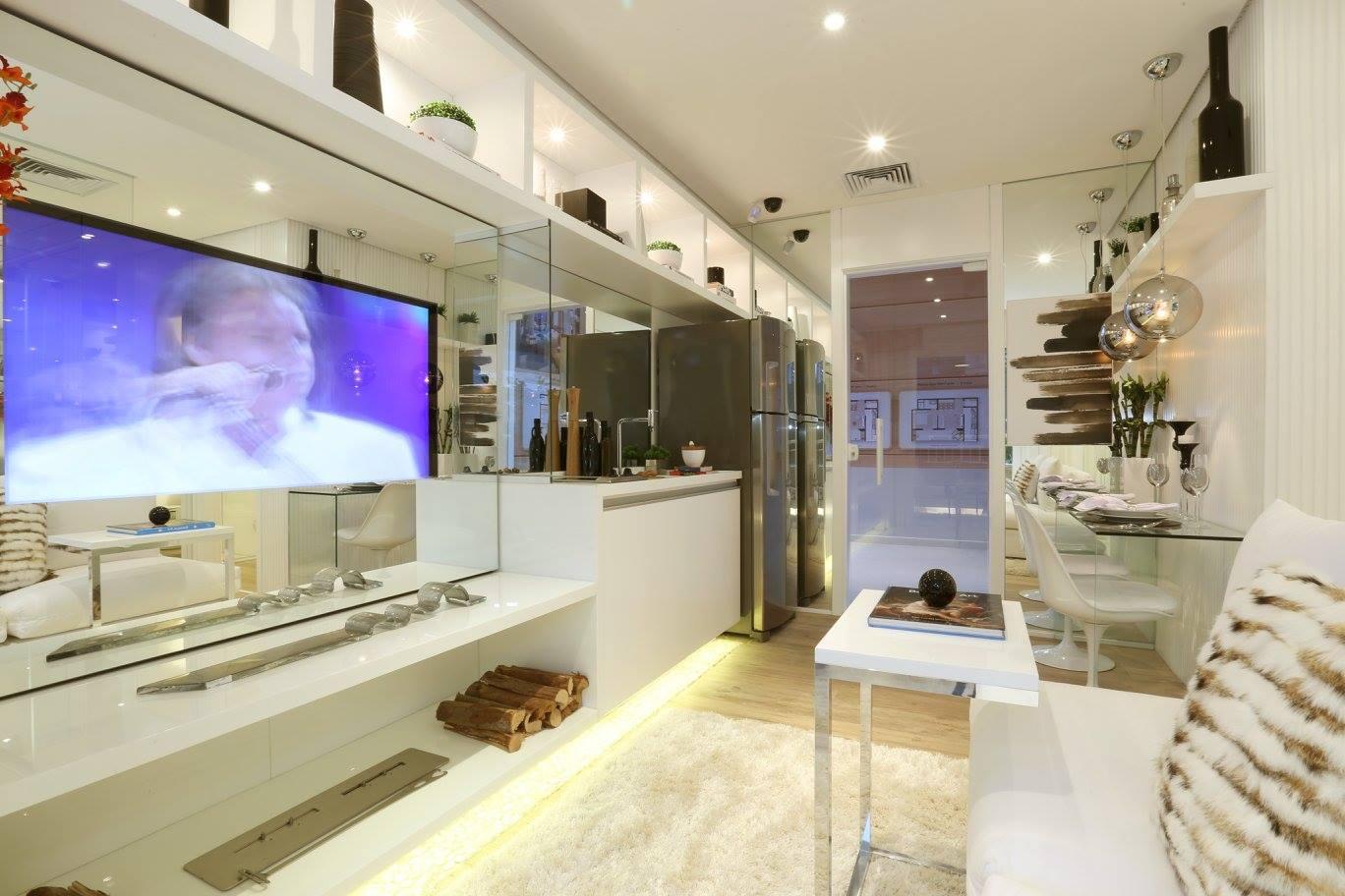 Дизайн интерьера квартиры-студии 34 кв.