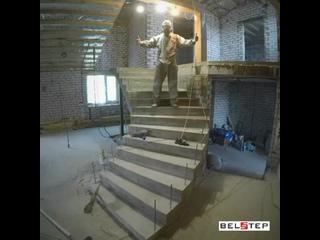 Шлифовка лестницы.mp4