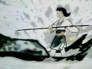 дзэн_ мультфильм Shan Shui Qing_(Ощущения от гор и воды) 1988