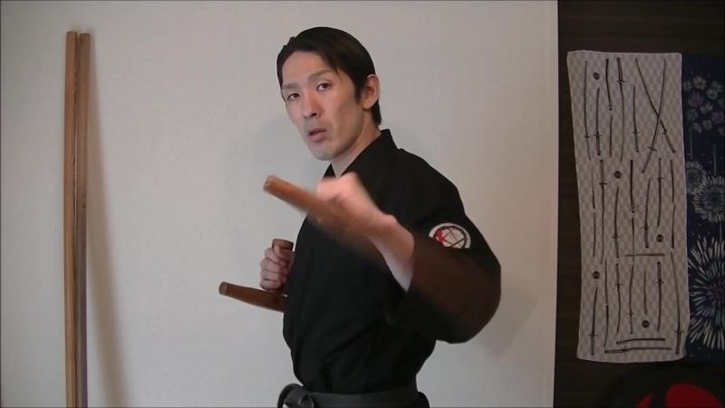 Тонфа Два упражнения Оkinawa Коbudo Rуukyu Коbudo