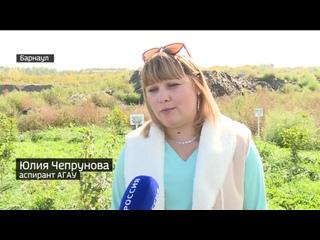 Учёные Алтайского края разрабатывают способ превратить свалки в полезные земли