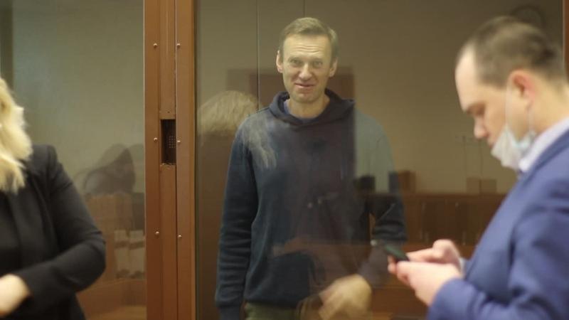 Навальный в Бабушкинском суде.