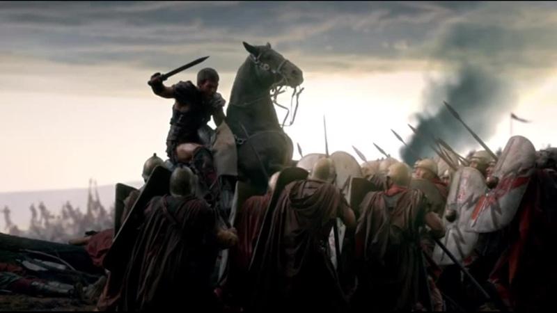 Спартак Война проклятых Разгром отряда легионеров