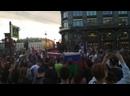 Фестиваль болельщиков Зенита на Невском проспекте в Питере