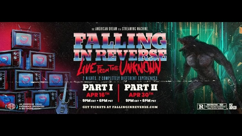 Falling In Reverse Live From The Unknown Part 2 2021