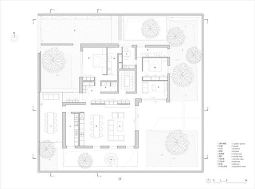 Жилая архитектура - Floationg Courtyard