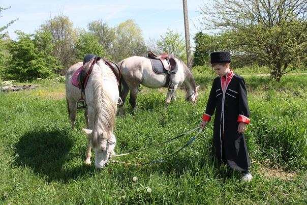 В преддверии Дня Победы на Кубани состоялся конный пробег