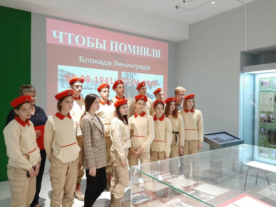 Вчера в музейном комплексе Петровска прошли памятные мероприятия, посвящённые 80-летию начала блокады Ленинграда