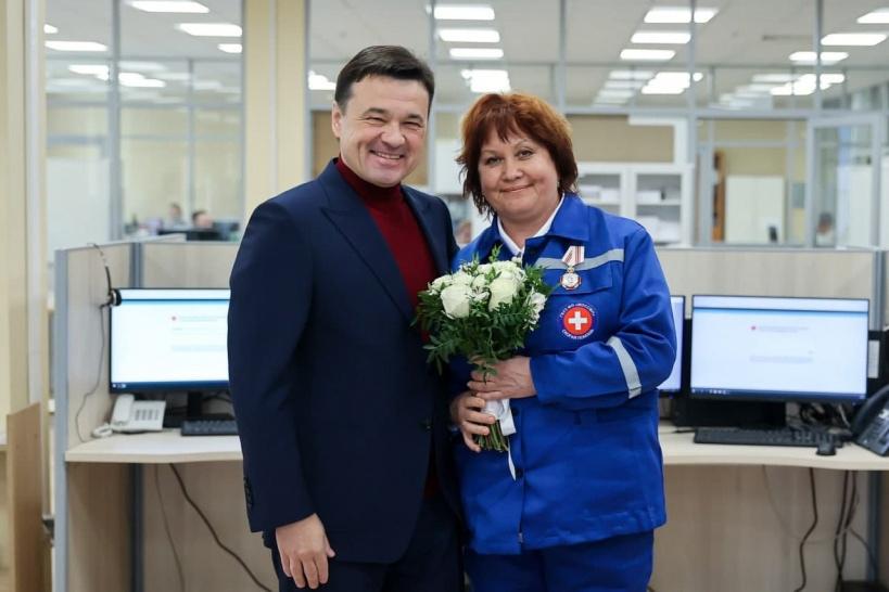 Врач из Дубны Инесса Сычкова награждена орденом Пирогова