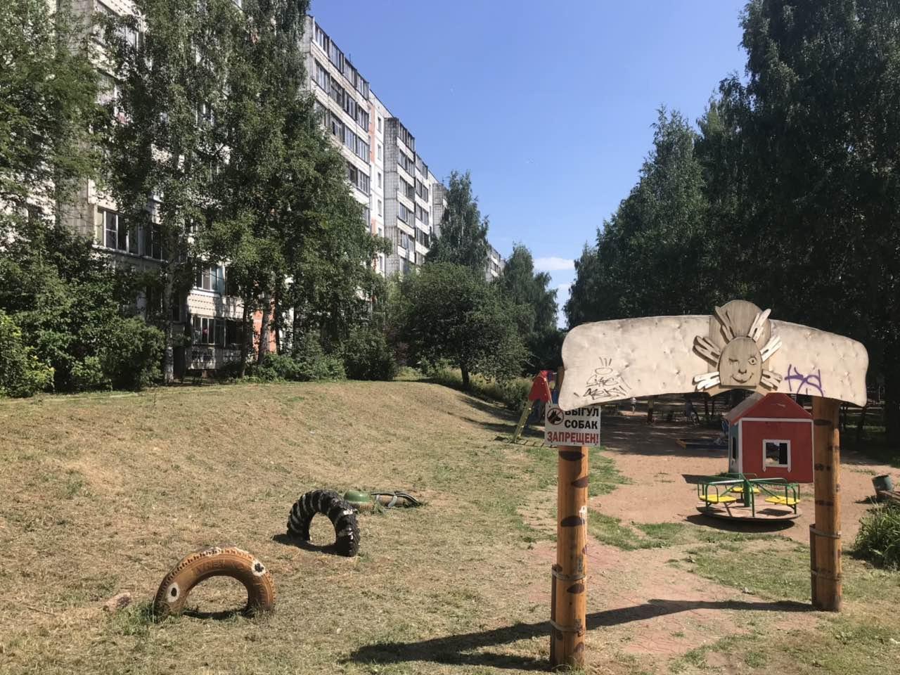 Улица Конева дом 5 -кошение