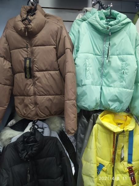 Большое поступление курток, ветровок до 50 размера...