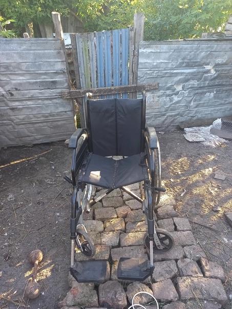 Коляска инвалидная б/у в хорошем состоянии .Пользо...