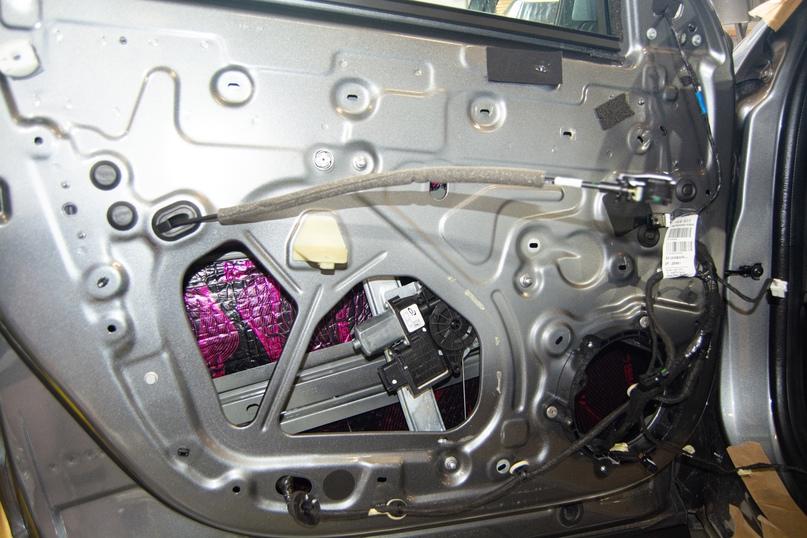 Комплексная шумоизоляция Renault Arkana, изображение №6