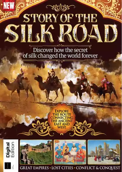 All About History Story of Silk Road - First Edition  2020