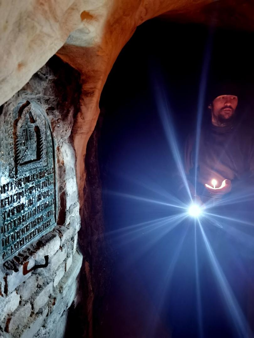 Свято-Успенский Псково-Печорский мужской монастырь. Пещеры Богом зданные