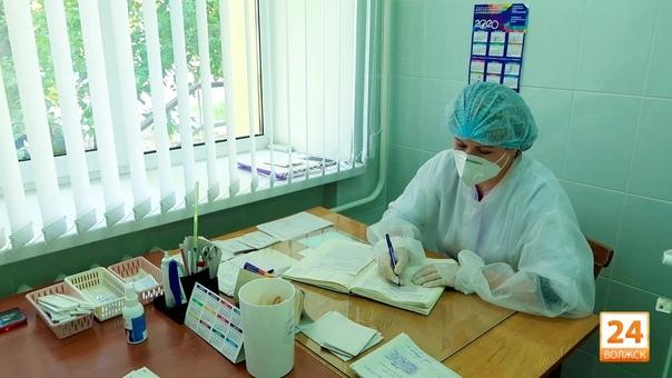 В Волжской ЦГБ лечатся 228 пациентов с пневмонией За сутк...