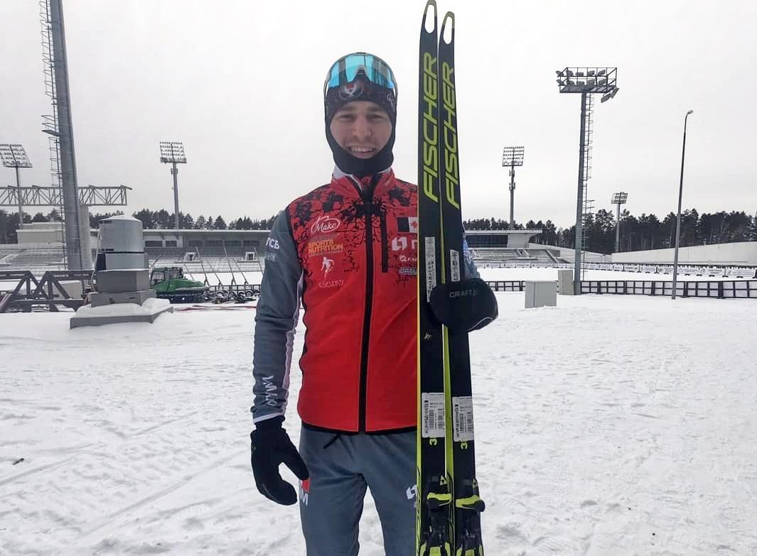 Можгинский лыжник Владислав Афанасьев завоевал серебро в