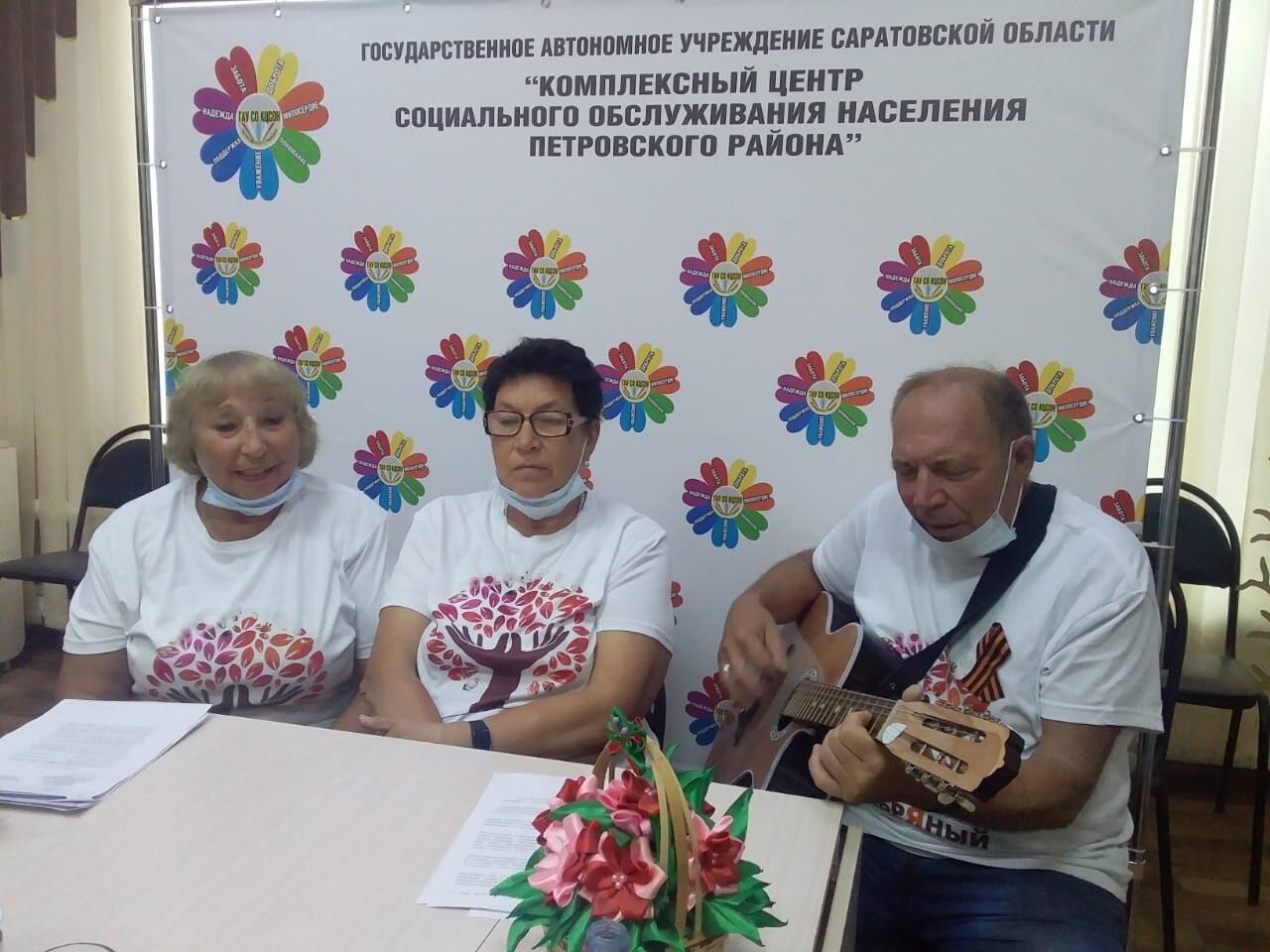 «Серебряные» волонтёры Петровского района поучаствовали в областном семинаре
