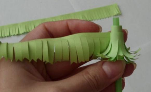 как сделать цветы шары из бумаги своими руками,