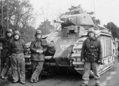Char B1-bis танк Пьера Бийота 1940 г