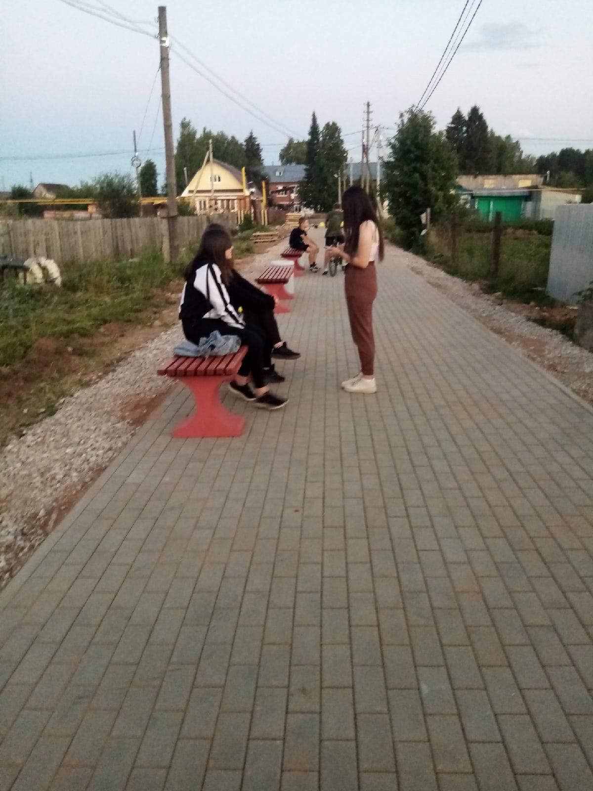Свой Школьный бульвар появился в селе ЧеремушкиТам