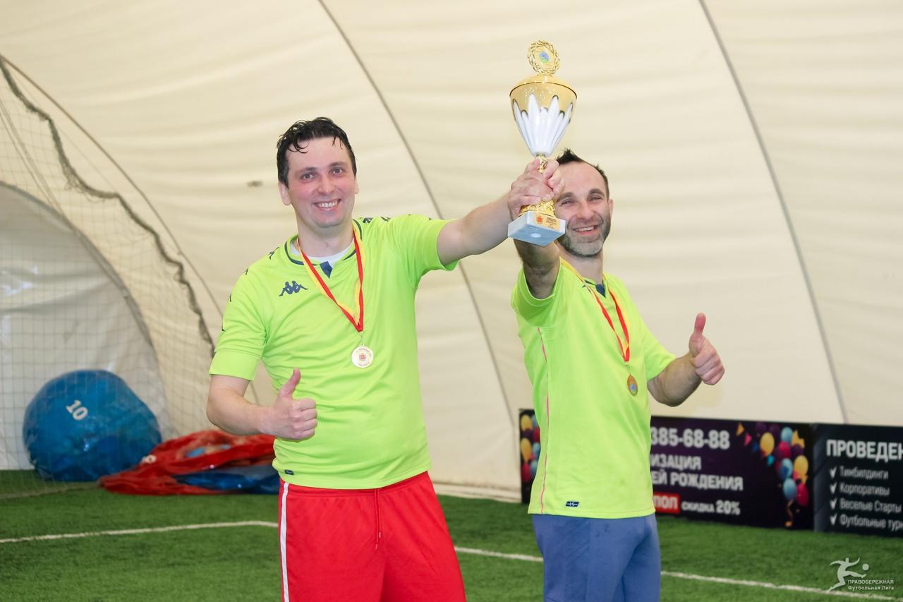 Олег Северьянов и Михаил Вострецов (812) - победители дивизиона Пучкова.