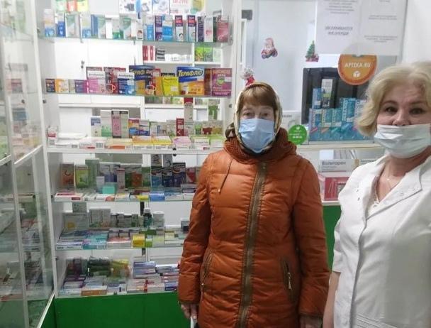 В селе Озёрки Петровского района открылся аптечный пункт