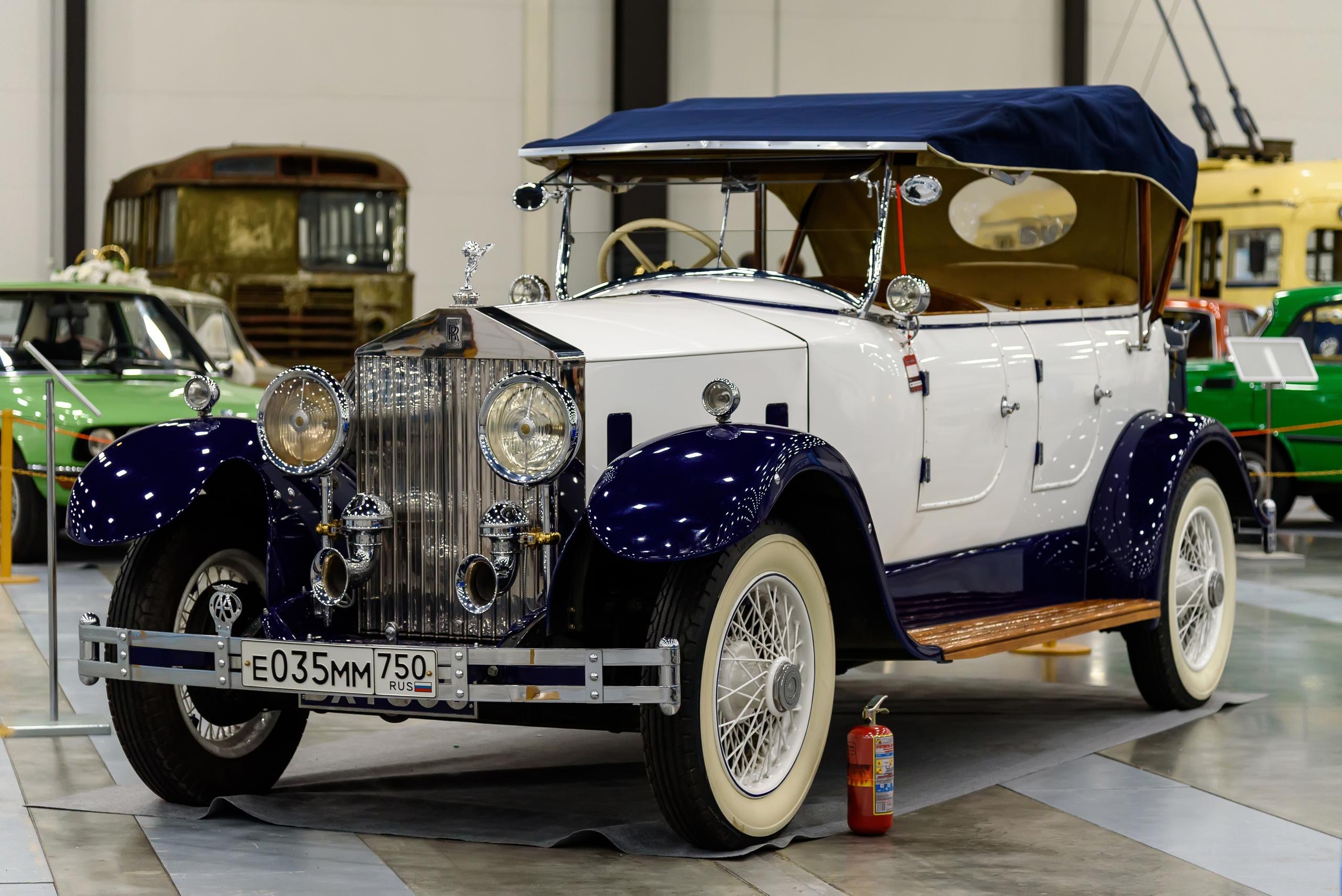 Rolls Royce 20/25 HP by Barker 1935