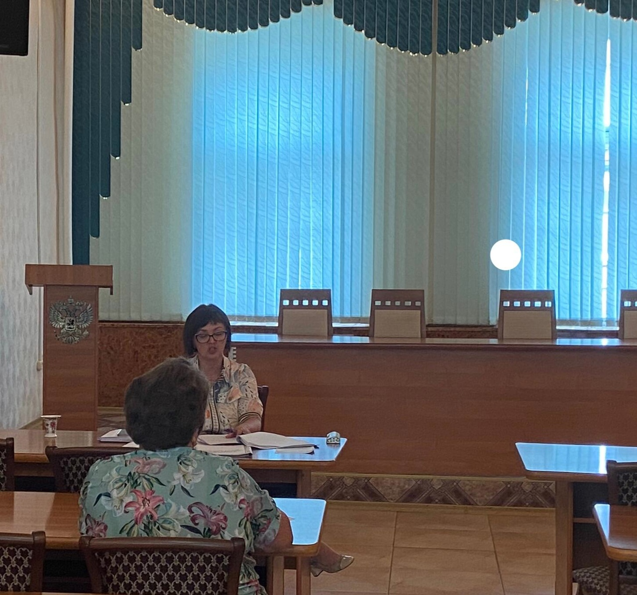 Состоялось очередное заседание территориальной избирательной комиссии Петровского муниципального района