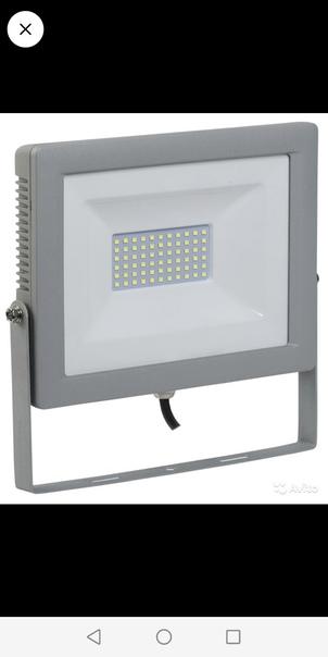 Продам 2 светодиодных уличных прожектора. По 10Вт каждый....