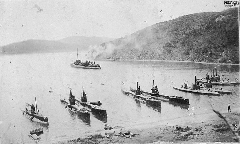 Подводные лодки Сибирской флотилии, 1910-е гг.